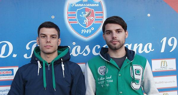 I fratelli Marco e Matteo Di Giacinto del Pianoscarano